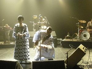 Le couple Amadou et Mariam