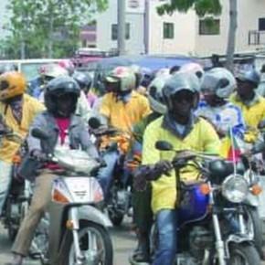 Le port de casque par les motocyclistes à Cotonou